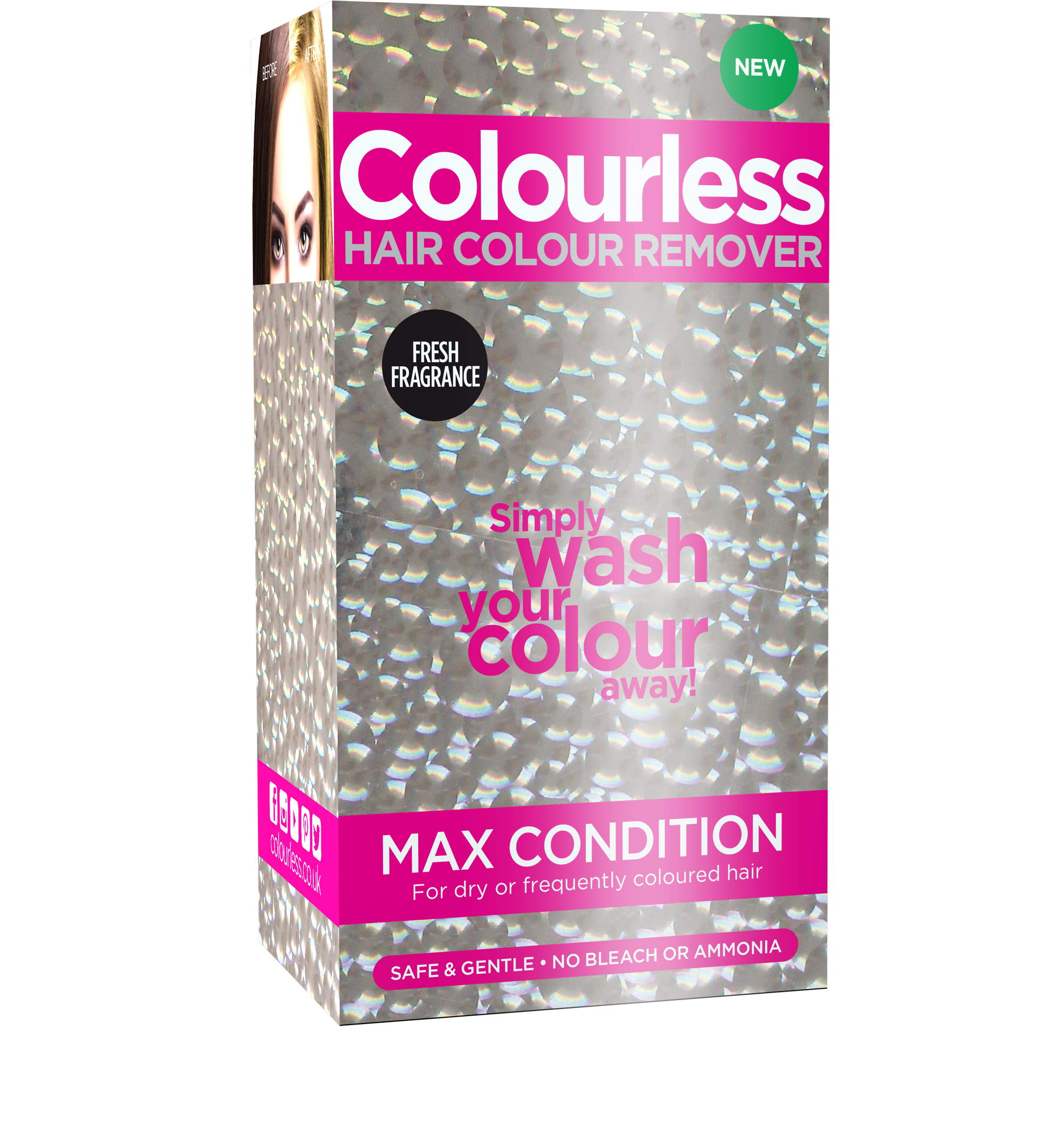 Colourless Max Condition